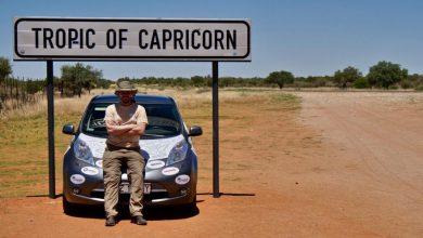 Jeździ po Afryce elektrycznym samochodem. Teraz opowie o podróżach