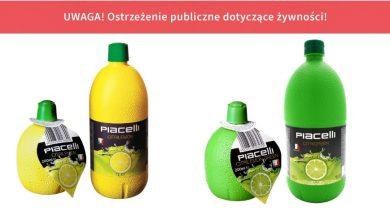 Siarka w koncentratach soku z cytryny i limonki! [OSTRZEŻENIE GIS] Lepiej nie wlewaj tego do herbaty!