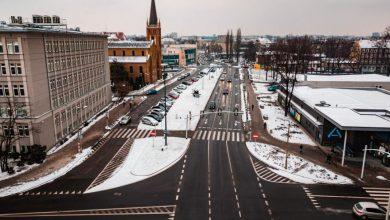 Spore zmiany przy ul. Dworcowej w Gliwicach. Niebawem rozpocznie się kolejny etap dużej miejskiej inwestycji(fot.UM Gliwice)