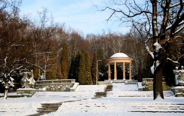Piękna zima w Parku Śląskim [ZDJĘCIA] Wygląda jak w bajce! (fot. Park Śląski)