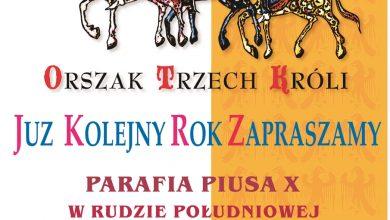 Orszak Trzech Króli w Rudzie Śląskiej (fot.UM Ruda Śląska)