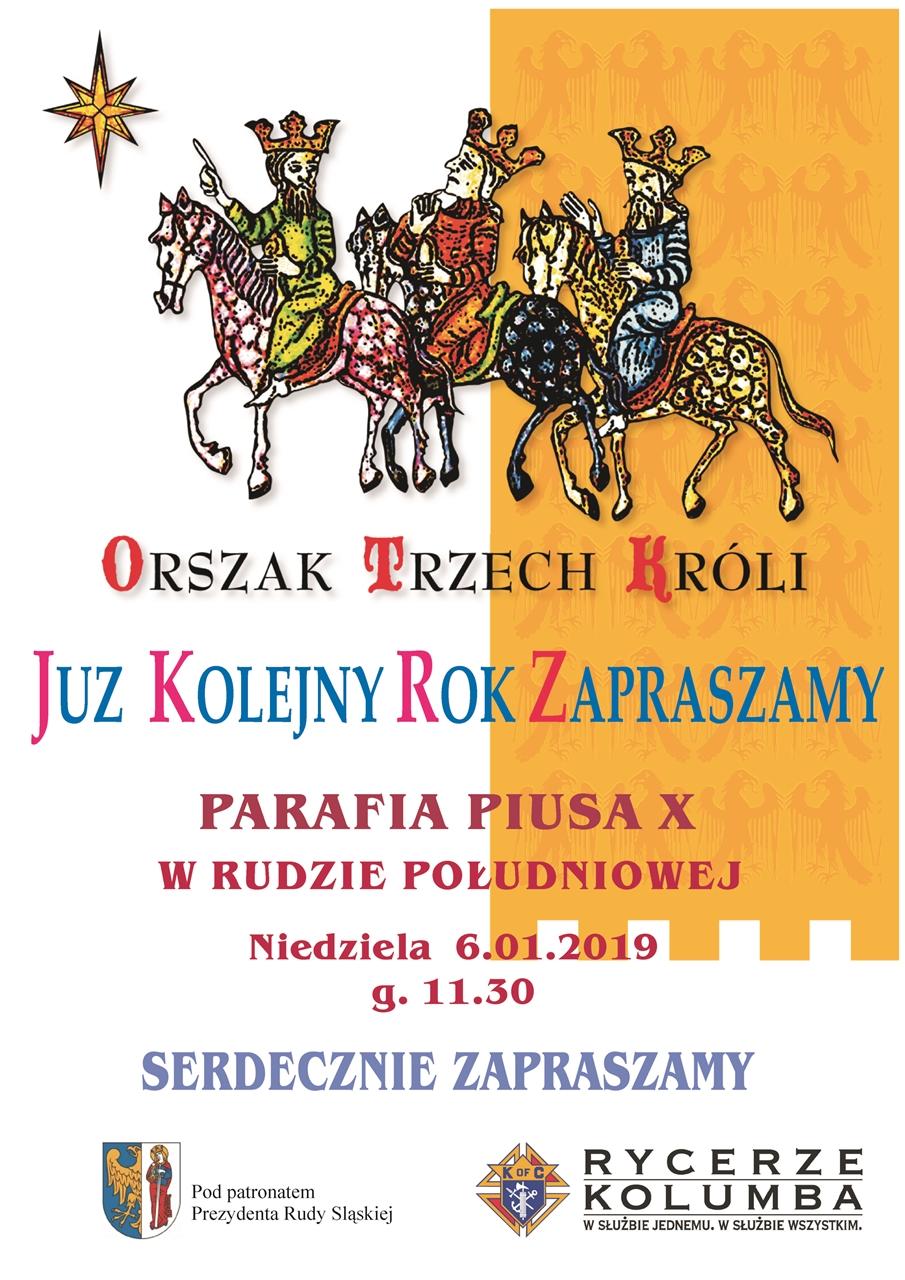 Orszak Trzech Króli W Rudzie śląskiej Fotum Ruda śląska
