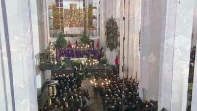 W gdańskiej Bazylice Mariackiej w sobotę w południe rozpoczęła się msza pogrzebowa zmarłego tragicznie prezydenta miasta Pawła Adamowicz
