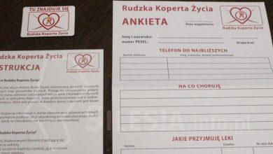 Ruda Śląska: Ta koperta może uratować życie (fot. rudaslaska.com.pl)