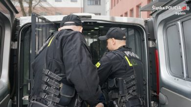 Będzin: Ofiara napadu trafiła za kratki! (fot.KPP Będzin)