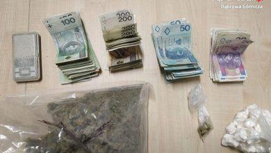 Śląsk: 24-wpadł z narkotykami. Miał tysiące działek amfetaminy i setki działek marihuany (fot.Śląska Policja)