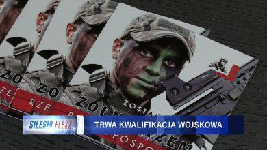 Katowice: Obowiązkowa kwalifikacja wojskowa [WIDEO] (fot.mat.TVS)
