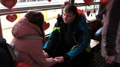 Zakochana Bana w Katowicach. Jechaliście? [WIDEO] (fot.mat.TVS)