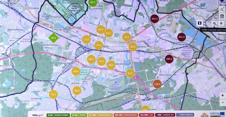 Katowice: Mieszkańcy zbyt często sprawdzają poziom smogu? System tego nie wytrzymuje!