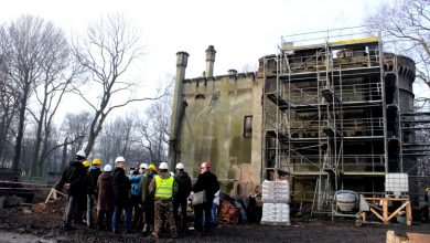 Tajemnice pałacu Tiele-Wincklerów w Miechowicach zostaną odkryte? [ZDJĘCIA] (fot. materiały prasowe)