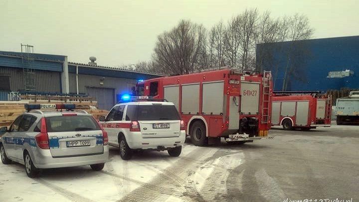 Tychy: Wypadek w zakładzie pracy przy Fabrycznej. Mężczyzna przygnieciony 300 kg szybą