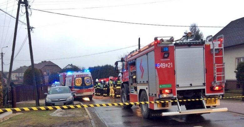 Śląskie: Tragiczny wypadek w Bojszowach (fot.www.112tychy.pl - Tyskie Służby Ratownicze)