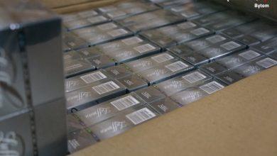 Bytom: 22 tysiące lewych papierosów w garażu [WIDEO]
