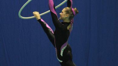 Wielkie sukcesy akrobatki z Bytomia! Julia Wojciechowska to medalistka na mistrzostwach Polski i Europy (fot. UM Bytom)