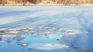Lód załamał się pod trójką nastolatków w Częstochowie. Wszyscy byli pijani (KMP Częstochowa)