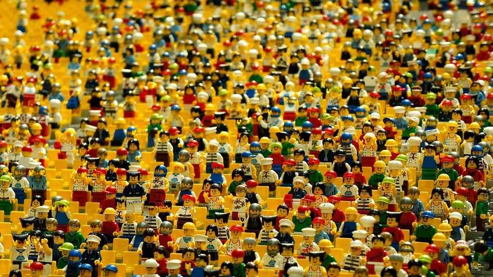 Kraina klocków LEGO w Gliwicach z walentynkową strefą dla zakochanych (fot.mat.prasowe)