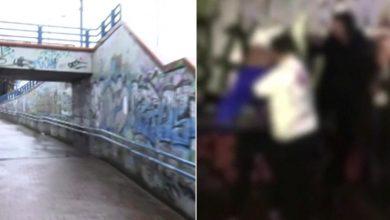 Dwie 14-latki urządził mordobicie w przejściu podziemnym za pieniądze! Tłum gapiów nagrywał telefonami!