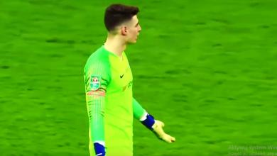 Bramkarz Chelsea odmówił zejścia z boiska (fot. youtube AMA Football Channel TM)
