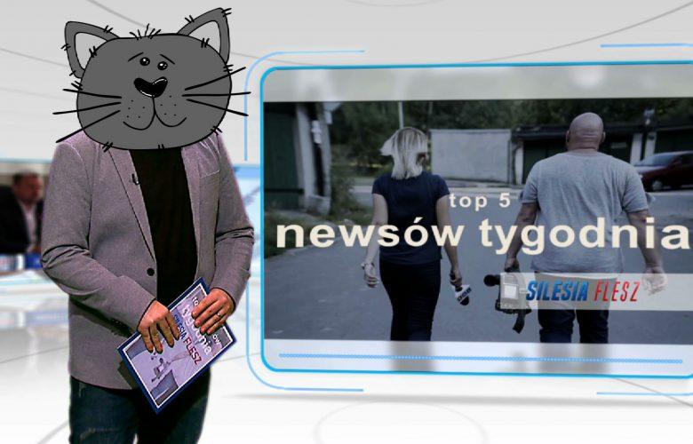 TOP 5 SILESIA FLESZ: Prezydent Sosnowca szuka DZBANA, a policja z Gliwic płacze pod fotoradarem!