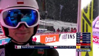 Kamil Stoch wygrał konkurs Pucharu Świata w Oberstdorfie. Polak skoczył w drugiej serii 227,5 metra. Rywale nie byli w stanie go przeskoczyć