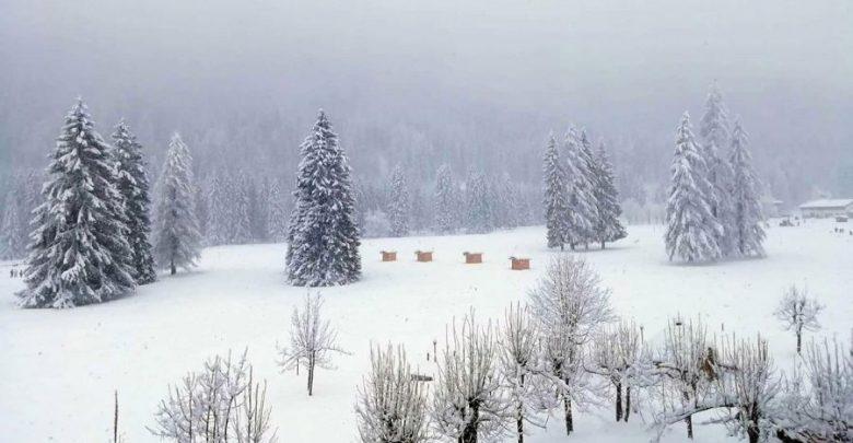 W Tatrach zima w pełni. Na Kasprowym Wierchu warstwa śniegu ma ponad 110 cm wysokości