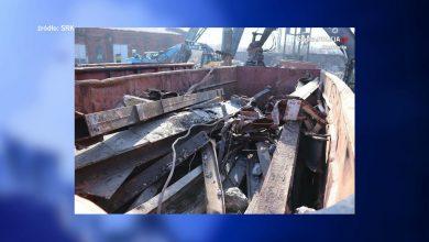 Pracownicy firmy wyburzającej KWK Mysłowice chcieli ukraść 18 ton złomu!