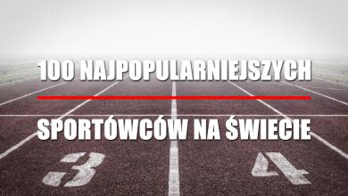 100 najpopularniejszych sportowców na świecie (fot. pixabay)