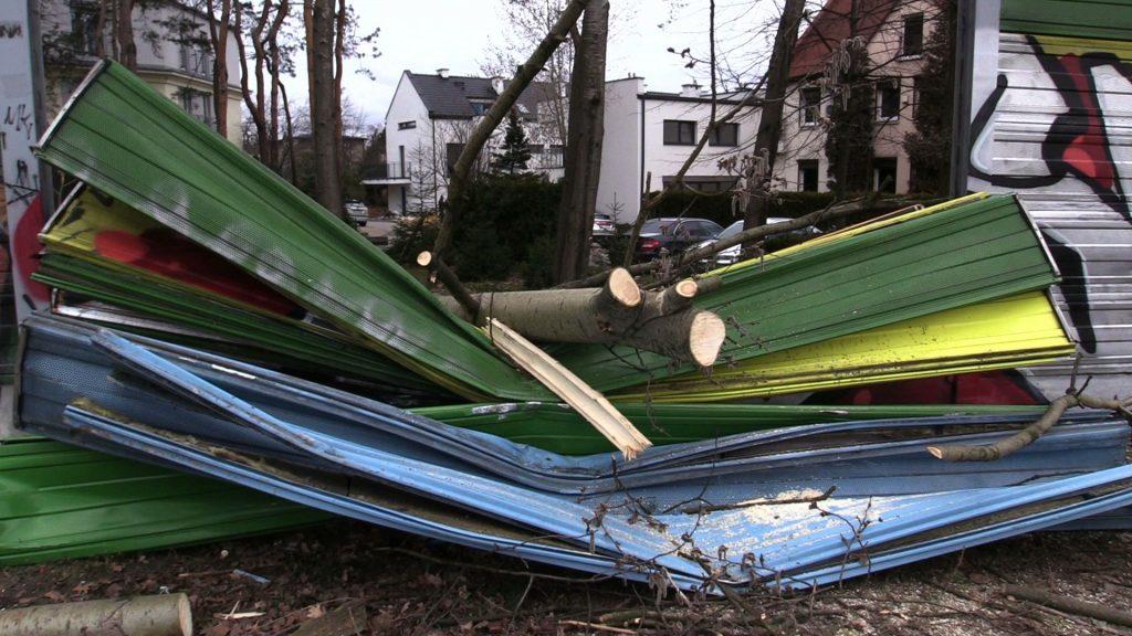 Wichury na Śląsku spowodowały, że od soboty strażacy interweniowali już około 2 tysięcy razy