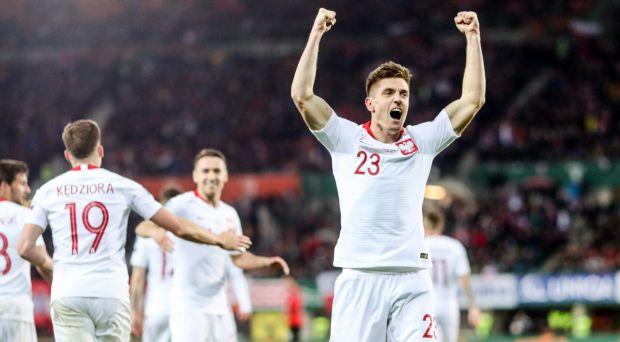 Wiedeń zdobyty! Fenomenalny Krzysztof Piątek! [KWALIFIKACJE EURO 2020] (fot. PZPN)