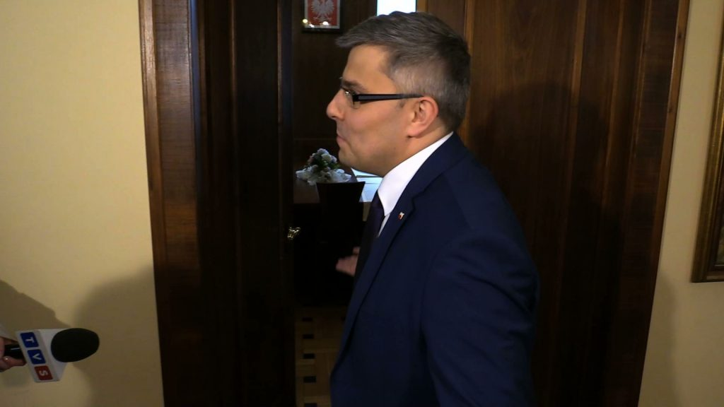 -Zapraszam, przyszli Państwo z petycją, prosimy. Ja jestem do Państwa dyspozycji - mówił Jarosław Wieczorek, wojewoda śląski.