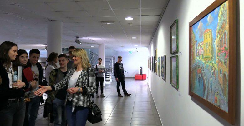 Most między Lwowem i Katowicami? Buduje go specjalna wystawa w Wyższej Szkole Technicznej