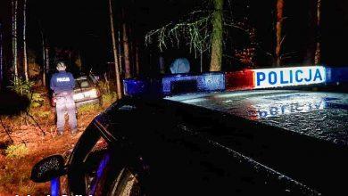 Pościg za naćpanym złodziejem paliwa. Padły strzały (fot. Policja Lubuska)