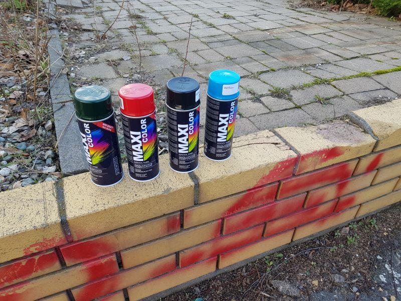 Katowic: grafficiarze-dzieci złapani na gorącym uczynku. Niszczyli Halę Parkową