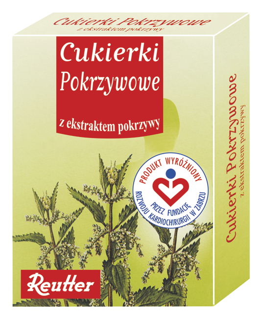 Cukierki pokrzywowe firmy Reutter