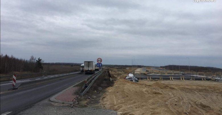 Uwaga kierowcy! 15 marca możliwe utrudnienia na DK1 w Częstochowie (fot. KMP Częstochowa)