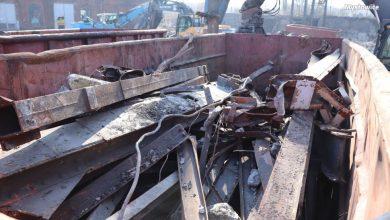 Przysypali złom gruzem i tak chcieli ukraść 18 ton złomu z terenu kopalni KWK Mysłowice (fot. KMP Mysłowice)