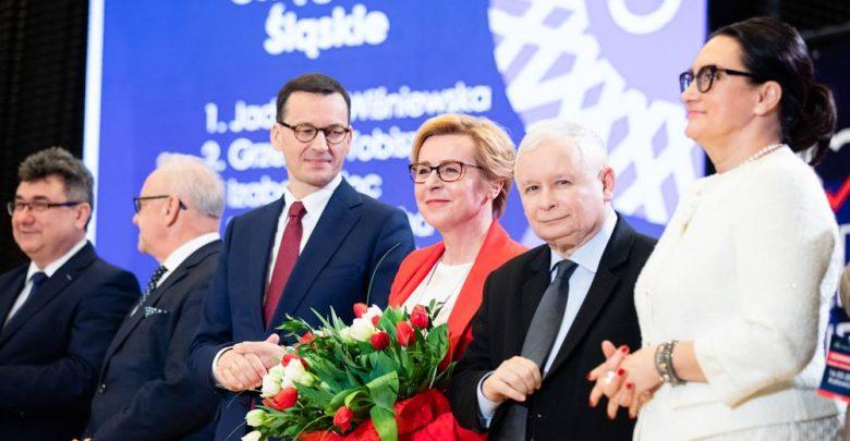 """Kaczyński: """"Wara od naszych dzieci!"""" [WIDEO] Konwencja PiS w Katowicach"""