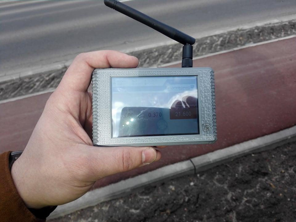 W Katowicach loty dronem, który ma sprawdzać czym palą w piecach mieszkańcy to nie nowość. Jednak Górnośląsko-Zagłębiowska Metropolia ma już konkretne plany (fot.Wojciech Żegolewski)