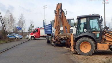 Śląskie: Zginął pod kołami ciężarówki, którą wcześniej kierował (fot.KMP Rybnik)
