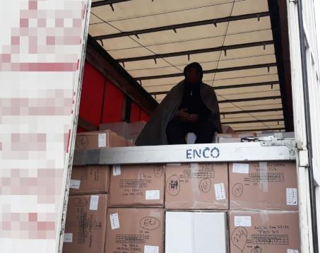 Za 5000 euro przemycali Afgańczyka w naczepie ciężarówki