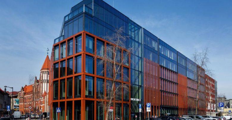 Gliwice zyskały kolejny nowoczesny biurowiec. Właśnie zakończyły się prace przy budowie biurowca przy ul. Dworcowej 25 fot.D.Nita-Garbiec
