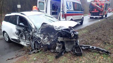 Koszmarny wypadek w Dąbrowie Górniczej! Kobieta zginęła w zderzeniu z pijanym kierowcą z Sosnowca! (fot.policja)