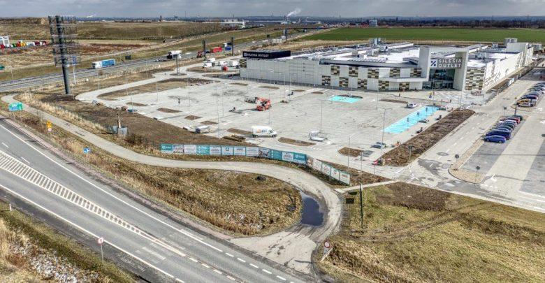Eko - standardy w Silesia Outlet w Gliwicach [ZDJĘCIA] Budowa dobiega końca