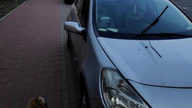 Katowice: Kto uszkodził samochody przy Dolinie Trzech Stawów? Blokowały chodnik (fot.www.katowice24.info)