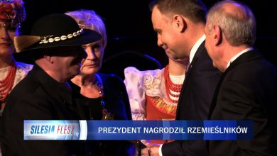 Prezydent Rzeczpospolitej Polskiej Andrzej Duda wziął dziś udział w XXVI Wielkiej Gali Izby Rzemieślniczej w Domu Muzyki i Tańca w Zabrzu