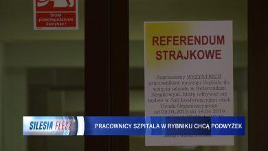 Referendum strajkowe w WSS nr 3 w Rybniku. Związki zawodowe domagają się podwyżek płac [WIDEO] (fot.mat.TVS)