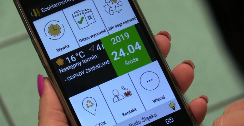 W Rudzie Śląskiej aplikacja dostarcza także dane o jakości powietrza. Podobna aplikacja od marca działa w Żorach.