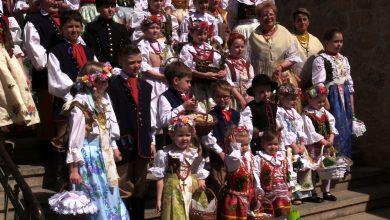 Koszyczki ze święconką w Radzionkowie, czyli Wielka Sobota po śląsku