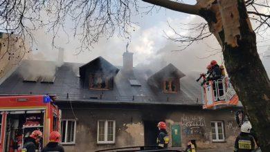 Smród i kłęby dymu, pożar domu w Bielsku-Białej! Czy to było podpalenie?