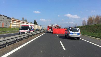 Tragiczny wypadek w Bielsku-Białej. Nie żyje motocyklista. Policja szuka świadków